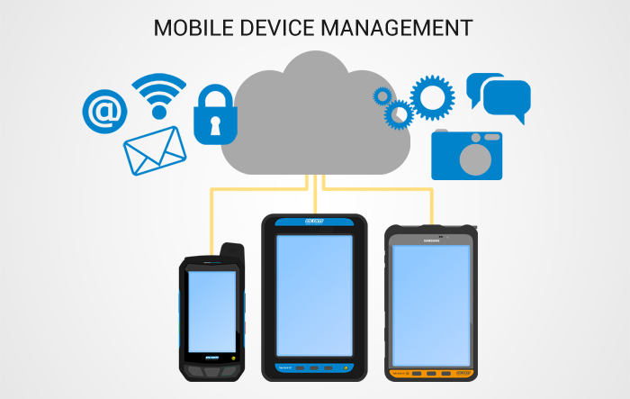 mobile device management software ensures data security devicemax